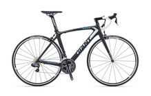 Giant TCR Composite 0 satin black/blue/silver